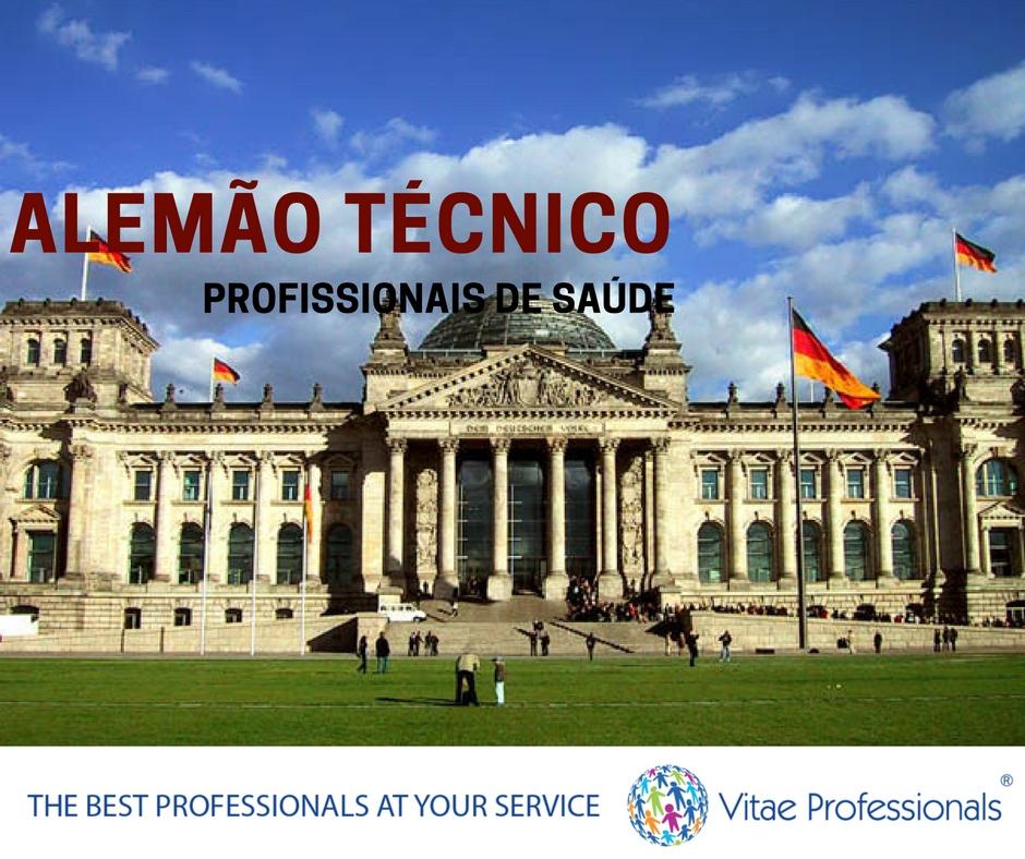 Vitae Professionals, curso de alemão técnico para profissionais de saúde, alemão técnico , alemão, alemanha,profissionais de saúde, curso, formação, conhecimentos, preparação